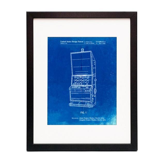 Slot Machine Patent Poster