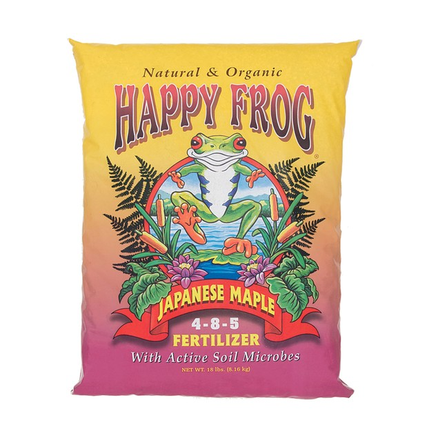 FoxFarm Happy Frog® Japanese Maple Fertilizer, 18 lbs