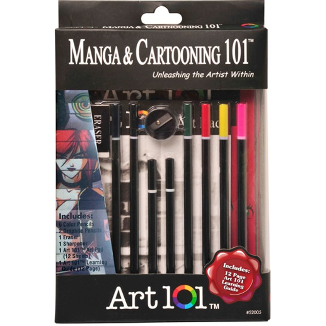 Manga&Cartooning 101, Women's Interests by Art101USA