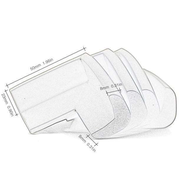 Tritina Corner safety bumpers-16pcs,Corner Cushion with 3M Tape