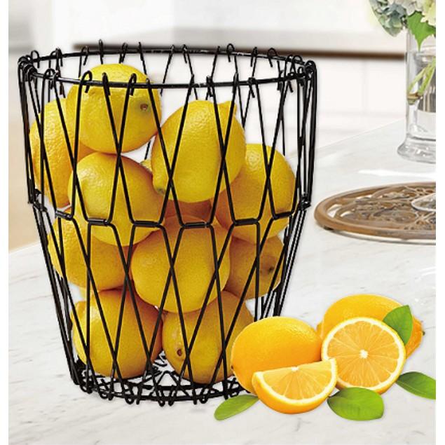 Folding Wire Fruit Basket