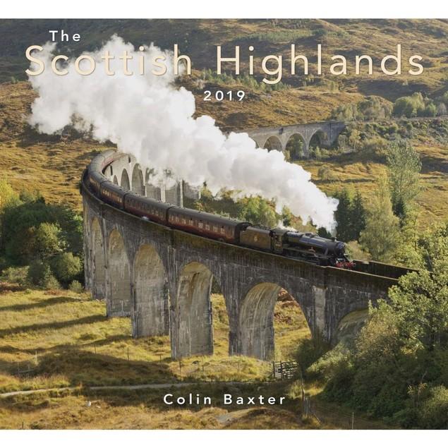 Scottish Highlands Wall Calendar, Scotland by Colin Baxter Photography