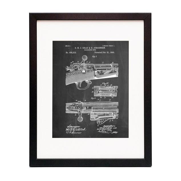 Repeating Rifle Patent Print