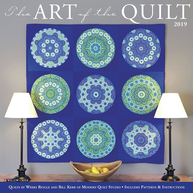 Art of the Quilt Wall Calendar, Women's Interests by Willow Creek Press