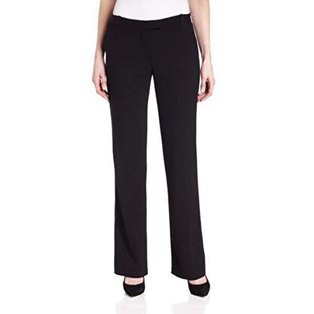 Calvin Klein Women's Madison Pant,Black,12