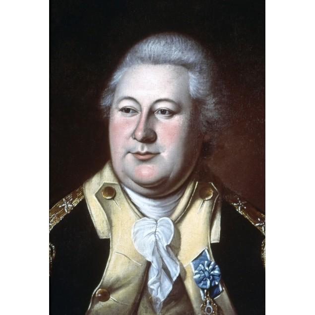 Henry Knox (1750-1806). /Namerican Revolutionary Officer. Oil On Canvas, 17