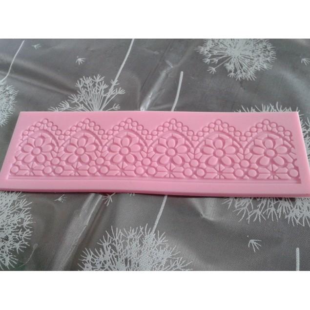 Lace Silicone Mold Cake Decoration Tool For Fondant Cake Cupcake