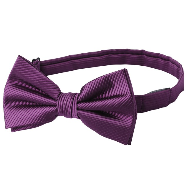 Jacob Alexander Men's Tone on Tone Corded Pre-Tied Bow Tie