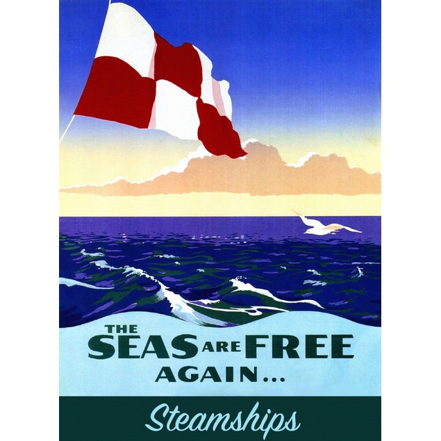 Seas of Free Again For Steam Leisure Travel .  Image taken from a Canadian