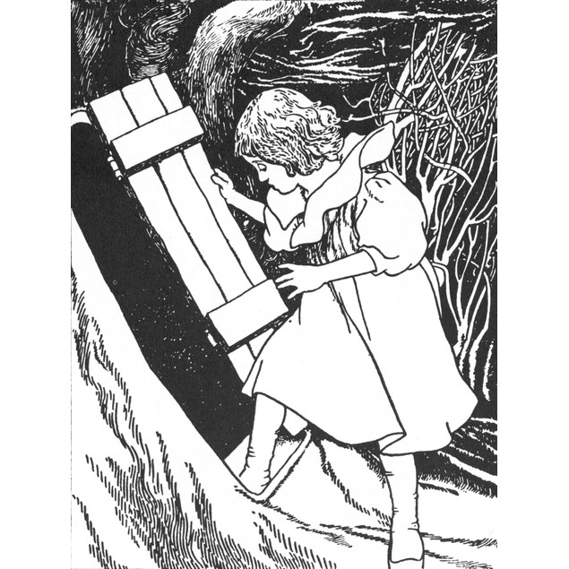 Carroll: Alice, 1907. /Nillustration By Charles Robinson For Lewis Carroll'
