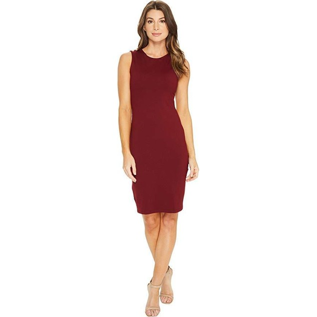 Susana Monaco Women's Scarlett Dress Oxblood Dress  SZ: X-SMALL