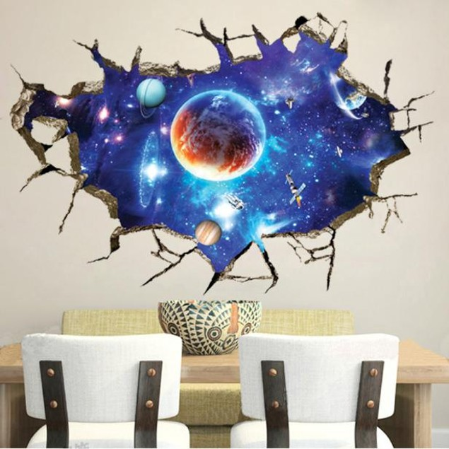 3D Removable Vinyl Art Room Decal Mural Wall Sticker Home Decoration