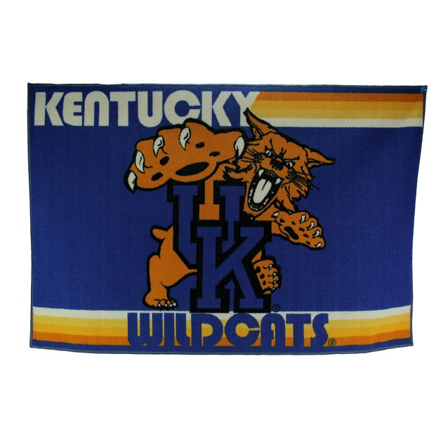 University Of Kentucky Wildcats 39 By 59 Inch Area Rugs