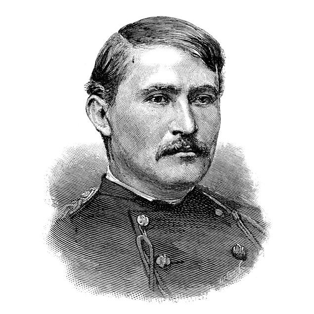 Frederic Dent Grant (1850-1912). /Namerican Soldier, Son Of President Ulyss