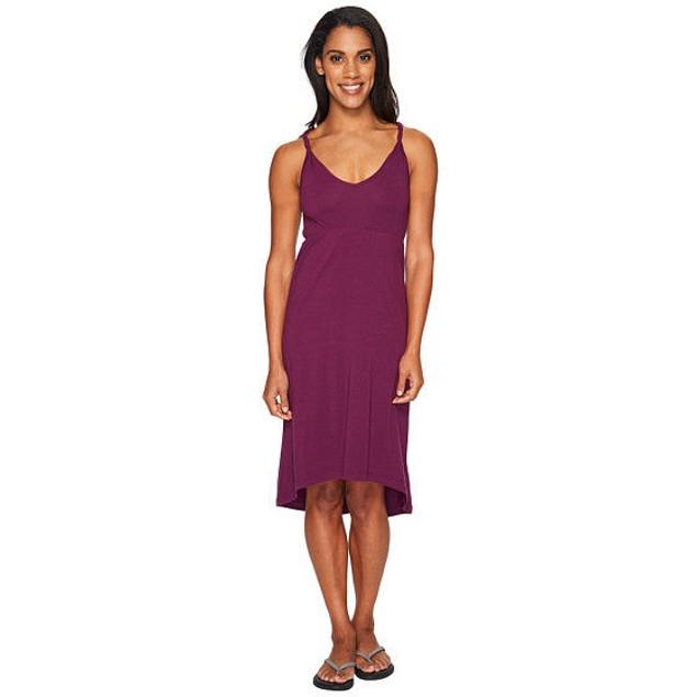 KAVU Women's Ravenna Dress Purple Dress SIZE XXS