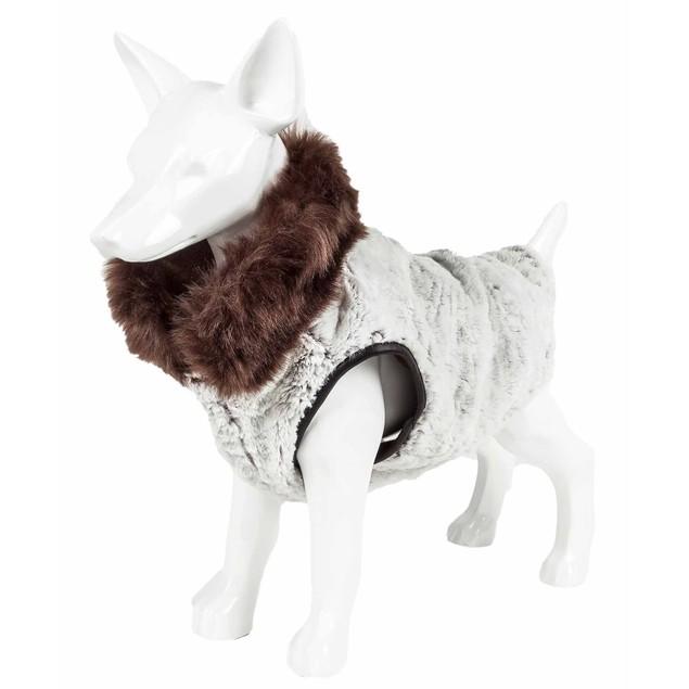 Pet Life Luxe 'Purrlage' Pelage Fur Dog Coat Jacket