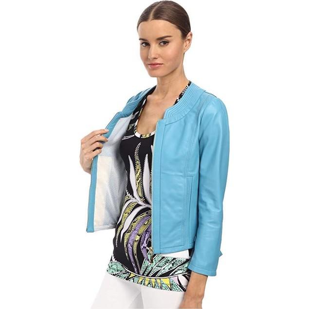 Just Cavalli Women's S04AM0126N08101 Light Blue 38 (US 0)