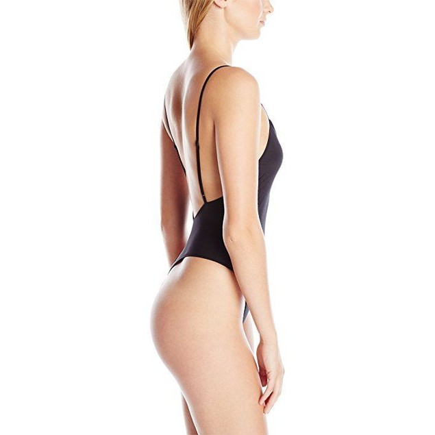 Only Hearts Women's Second Skins Low Back Thong Bodysuit SZ: S
