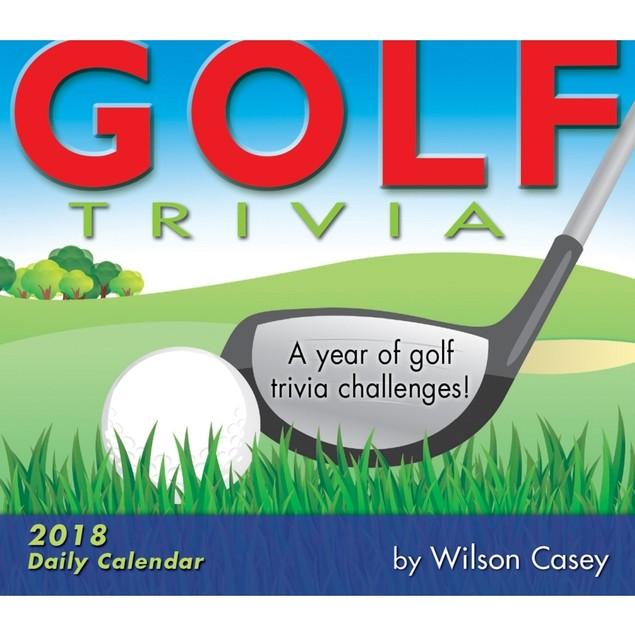 Golf Trivia Desk Calendar, Golf by Calendars