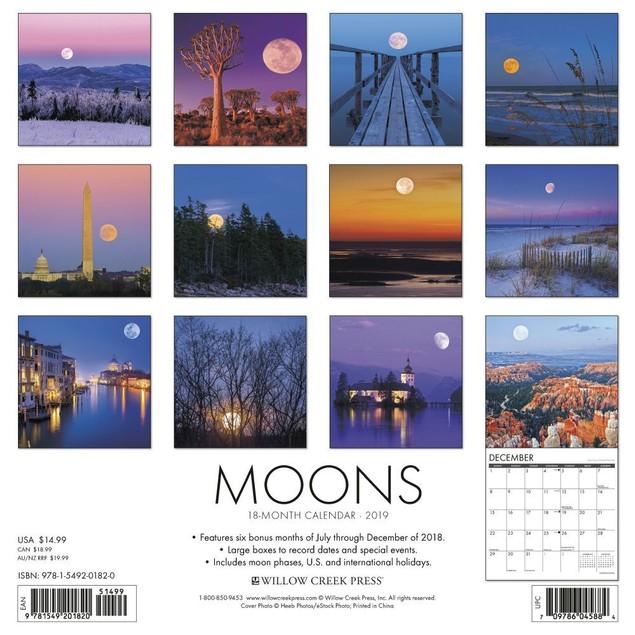 Moons Wall Calendar, Moon by Calendars