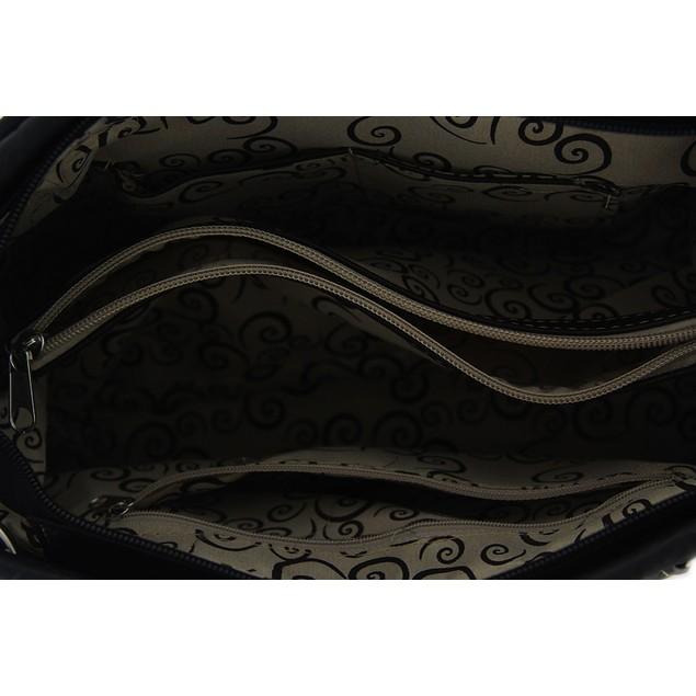 Polished Pony Embroidered Western Trim Concealed Womens Shoulder Handbags