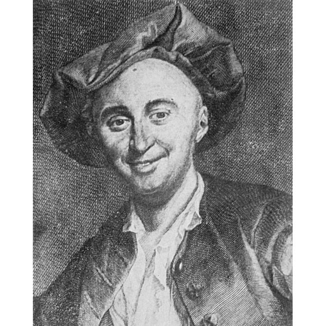 Julien La Mettrie /N(1709-1751). Julien Offroy De La Mettrie. French Physic