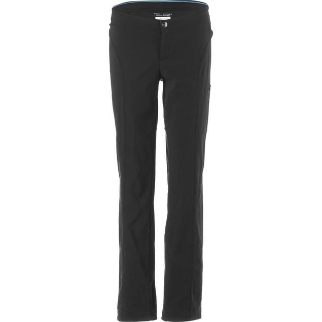 New Columbia Women's Just Right Straight Leg Pant, Black, 10R