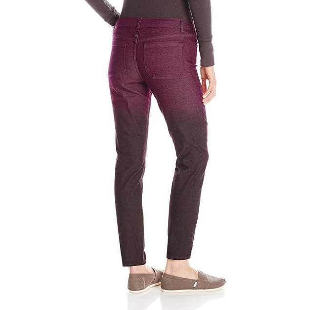 prAna Women's Jett Pants, Size 0, Black Plum
