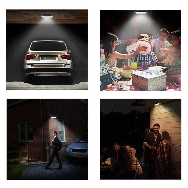800 Lumens Solar Light 48 LED Radar Induction Outdoor Solar Lights