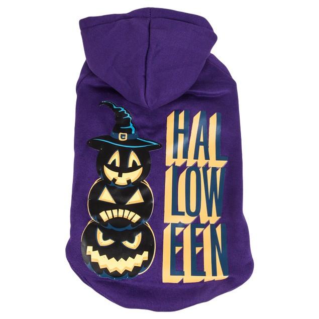 Pet Life LED Lighting Halloween Hooded Sweater Pet Costume