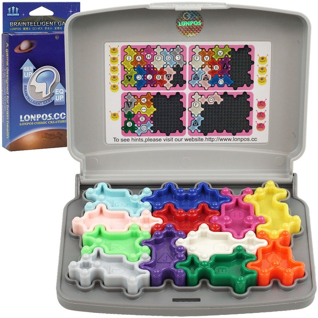 Lonpos Cosmic Creature Braintelligent Game - Boost Your IQ