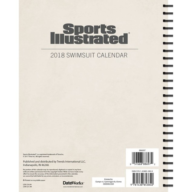 Sports Illustrated Swimsuit Softcover Weekly Planner, SI Swimsuit Models by