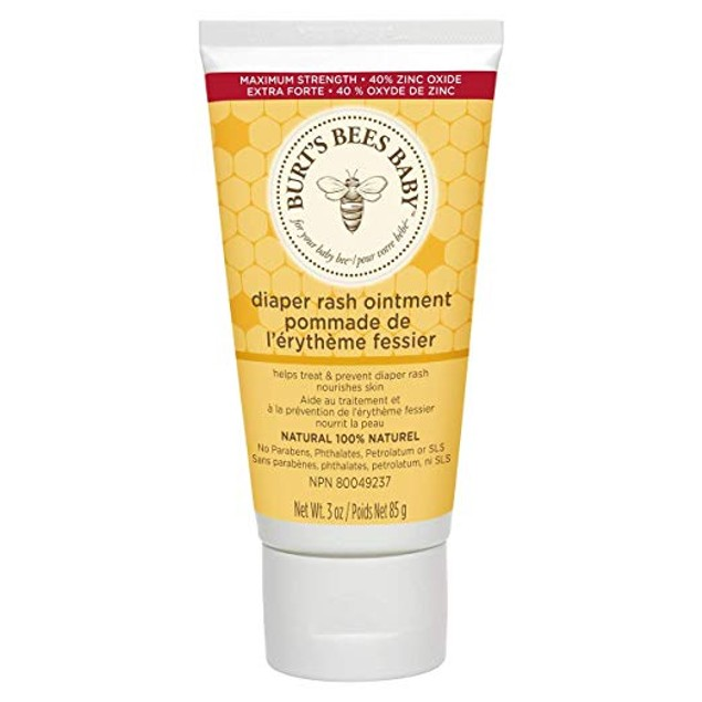 Burt's Bees Baby 100% Natural Diaper Rash Ointment - 3 Ounces Tube