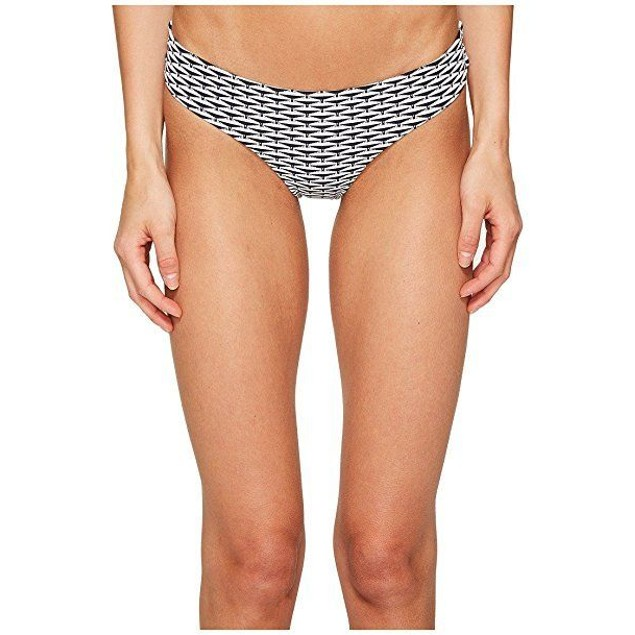 onia Women's Lily Two-Tone Diamond Swimsuit Bottoms Sz: M