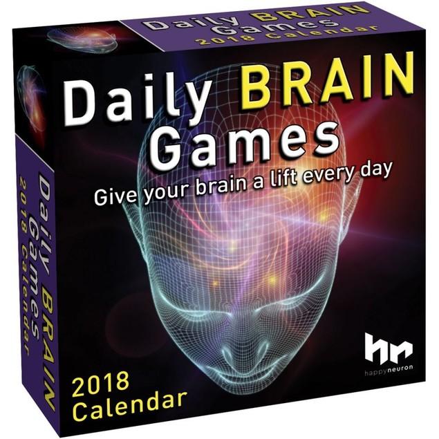 Brain Games Desk Calendar