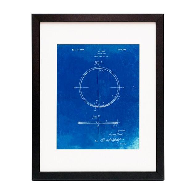 Piston Ring Patent  Poster