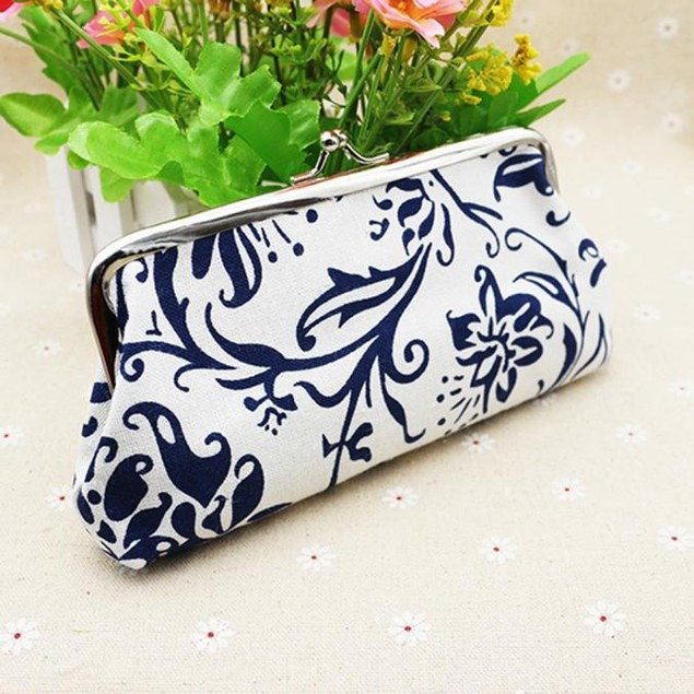 Womens Wallet Card Holder Coin Purse Clutch Bag Handbag