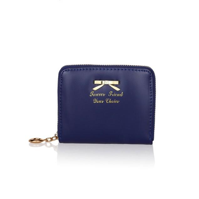 Women Cute Purse Clutch Wallet Short Small Bag PU Card Holder