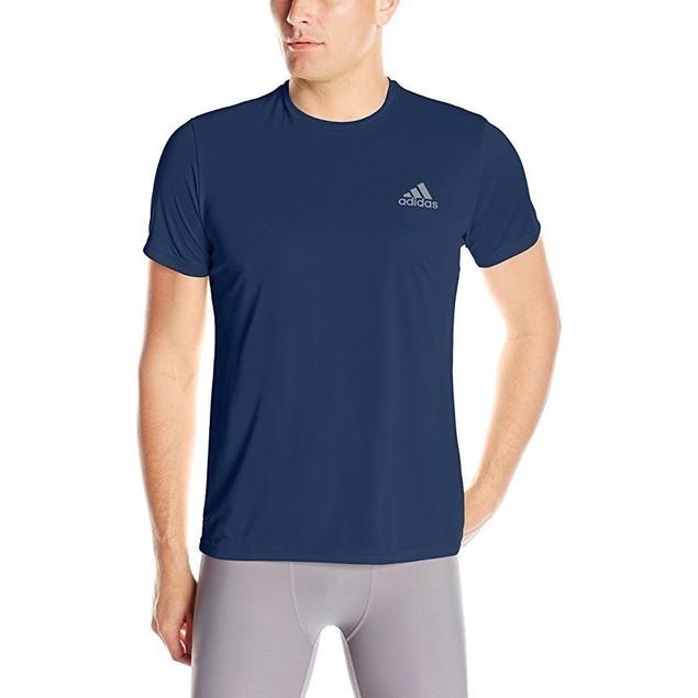 adidas Men's Training Essentials Tech Tee, Collegiate Navy, SZ: Large