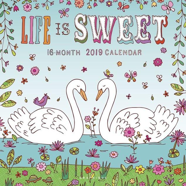 Life is Sweet Wall Calendar, Women's Interests by Calendars