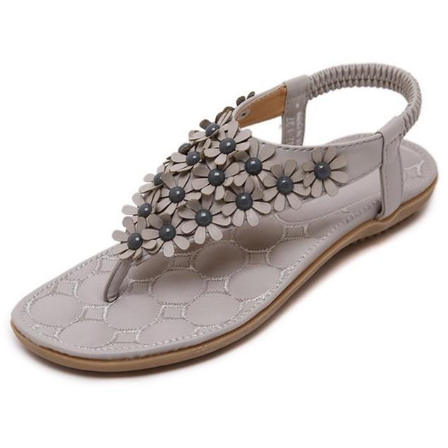 Comfy sandals - Sweet Flower Bohemia Sandals