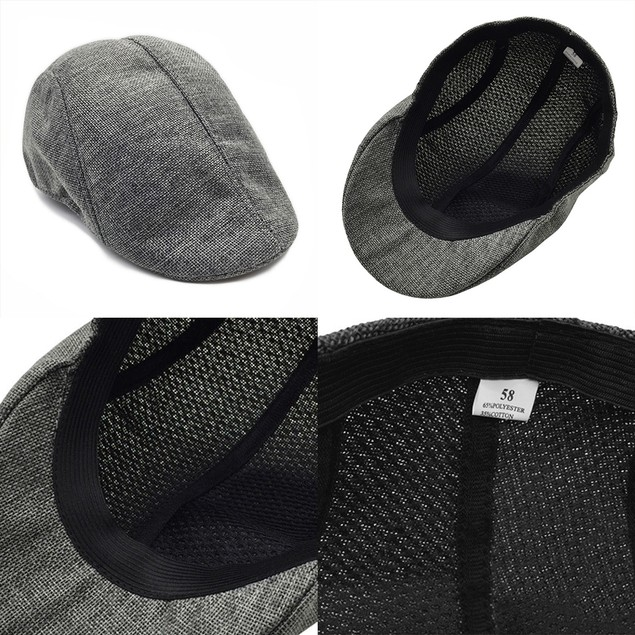 Men's and Women's Linen Cap