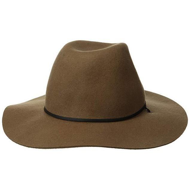 Coal Men's Lee Fedora Hat, Khaki, Medium