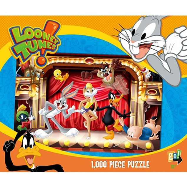 Looney Tunes Rock Stars 1000 Piece Puzzle, 1,000 Piece Puzzles by Go! Games
