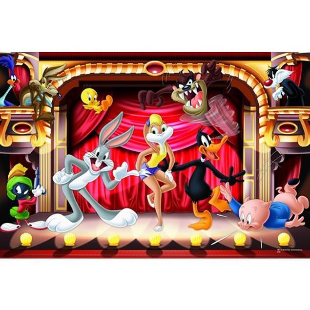 Looney Tunes Rock Stars 1000 Piece Puzzle, 1,000 Piece Puzzles by Go! Games