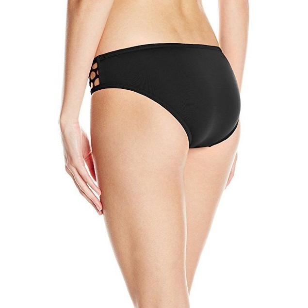 Seafolly Women's Mesh About Hipster Bikini Bottom, Black, sz:10
