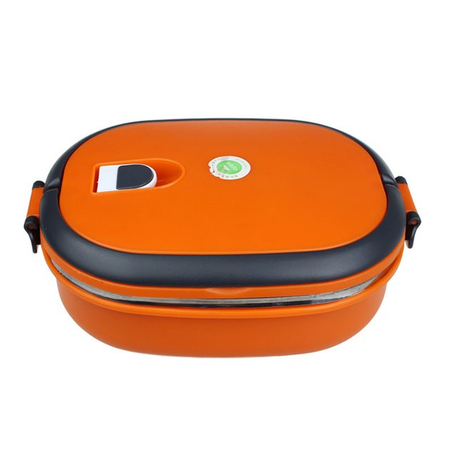 Single Stainless Steel Insulation Lunch Bento Box Food Container Bag