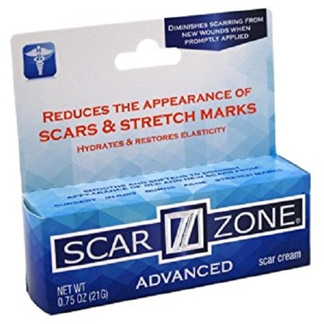 Scar Zone Advanced Skin Care Scar Cream 0.75oz Tube