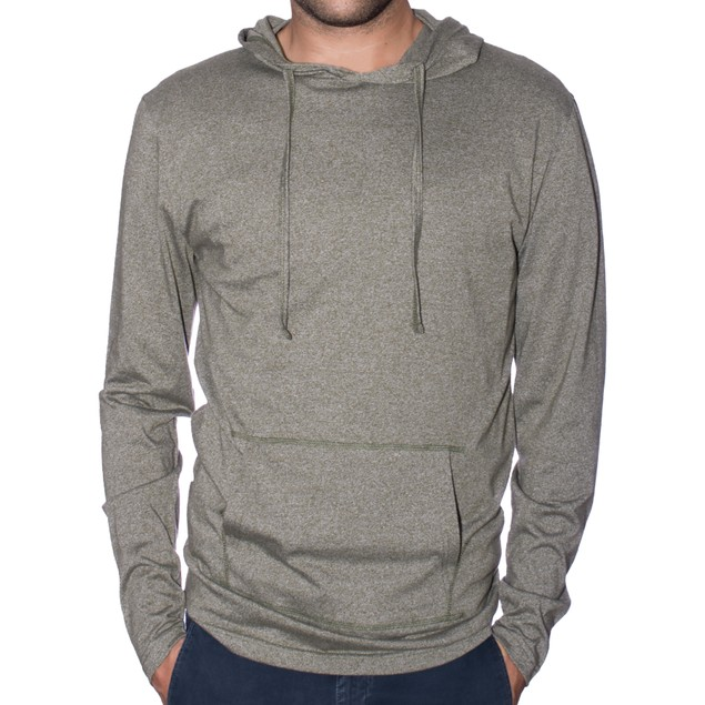 StraightFaded Men's Lightweight Marled Hoodie (S-2X)