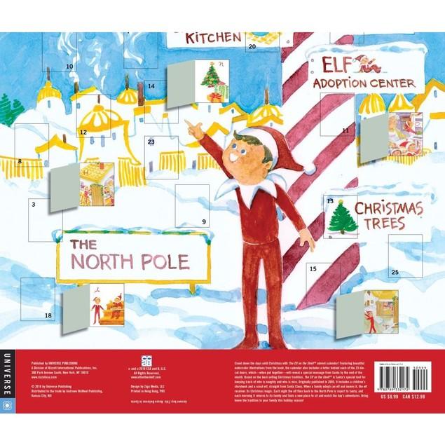 Elf on the Shelf Advent Calendar, Advent Calendars by Andrews McMeel Publis